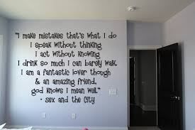 Sex And The City Beautiful Wall Decals
