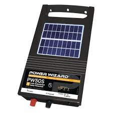 Buy Power Wizard Pw50s 6v Solar Electric Fence Charger 0 06 Joule Output Mega Depot