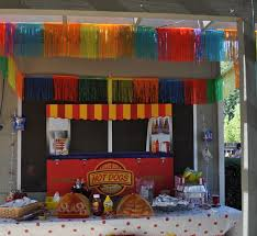 budget backyard carnival party
