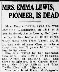 Obituary for EMMA LEWIS (Aged 60) - Newspapers.com