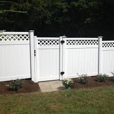 Weatherables Ashton 6 Ft H X 8 Ft W White Vinyl Privacy Fence Panel Kit Pwpr Lat 6x8 The Home Depot