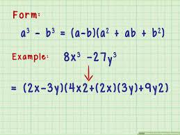 3 ways to factor algebraic equations
