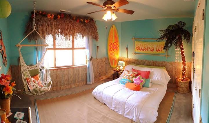 Tropical Kids Rooms Decor