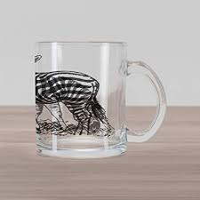 arc france clear glass cup mug