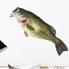 Rosecliff Heights Fishing Catch Bass Wall Decal Wayfair