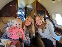 Rebekah Keller and her husband got a private jet to fly them and the  Wallers to Florida for Susanna's wedding : FundieSnark