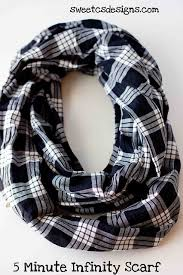 make an infinity scarf in 5 minutes