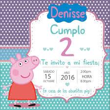 Invitacion De Peppa Pig Invitaciones De Peppa Fiesta De