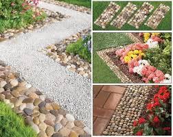 pebble garden path mats outdoor pathway