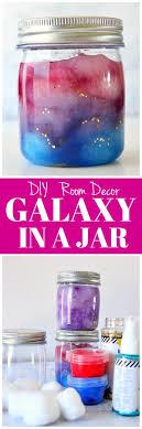 diy room decor galaxy in a jar