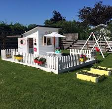 47 Charming Backyard Garden Playground Design Ideas To Try Cluedecor