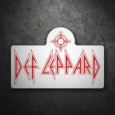 Sticker Def Leppard Muraldecal Com