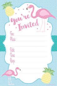 Flamingo Party Supplies On Amazon Invitaciones Imprimibles
