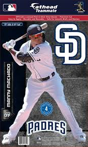 Fathead San Diego Padres Manny Machado Teammate Wall Decal Dick S Sporting Goods