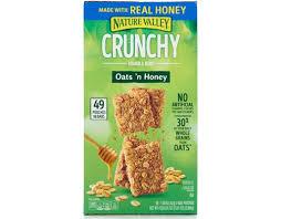 nature valley crunchy granola bars 49