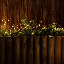 solar led micro wire fairy lights