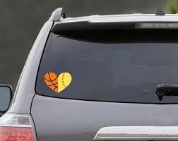 Softball Car Decal Etsy