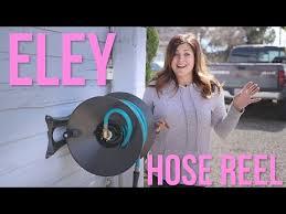 eley hose reel set up and impressions