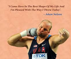 Adam Nelson is an American shot putter and Olympic gold medalist. Nelson  competed in three consecutive Olympic Games ...
