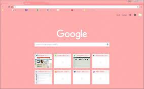 Google Chrome Theme - Pink Bubblegum ...