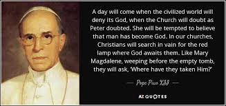 top quotes by pope pius xii of a z quotes