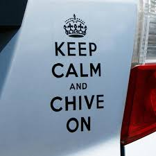 Keep Calm Black Vinyl Decal Black The Chivery