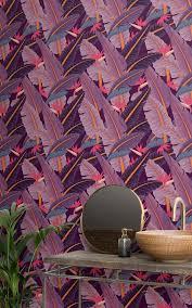 6 tropical wallpaper ideas that create