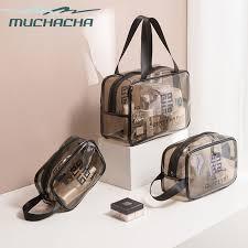 beach pouch clear pvc cosmetic bag