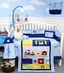 baby boy crib nursery bedding set