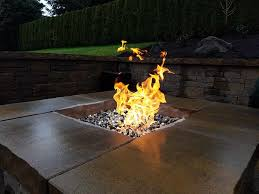 how to clean fire pit glass fire pit
