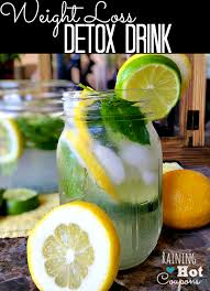 weight loss detox drink home trends