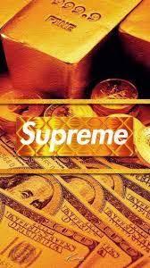 supreme money wallpapers wallpaper cave
