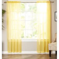 Kids Yellow Gold Curtains Drapes You Ll Love In 2020 Wayfair
