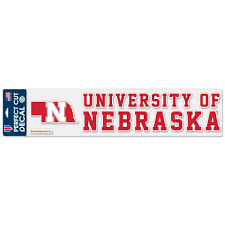 Nebraska Red Zone University Of Nebraska Decal With State