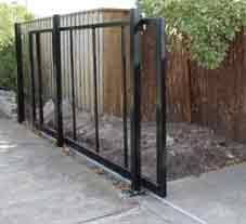Diy Sliding Gate Frame Sliding Gate Kits Driveway Gate Diy Sliding Fence Gate Gate Kit