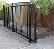 Diy Sliding Gate Frame Sliding Gate Kits Driveway Gate Diy Sliding Fence Gate Gate Kit