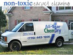 green non toxic carpet cleaning from