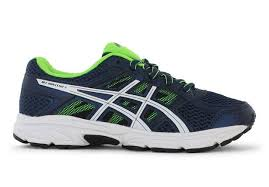 asics gel contend 4 gs kids dark blue