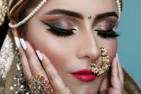 indian bridal makeup photos royalty