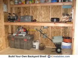 shelves for shed storage