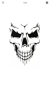 Skull Decals Large 36 Truck Jeep Car Boat Decal In Vinyl See Etsy