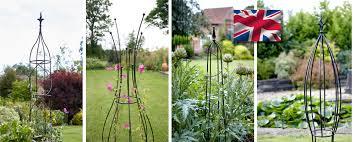 british made garden obelisks garden