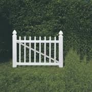 Vinyl Fence Gate Sp2 White Buy 2 For Double Drive Gates Fence Material