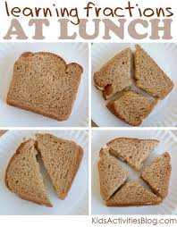 Math Fractions at Lunch {Learning with Food} | Math fractions ...
