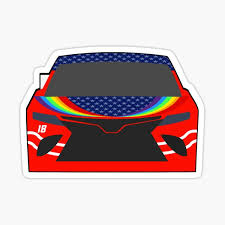 Kyle Busch Stickers Redbubble