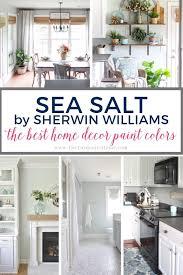 paint colors sherwin williams sea salt