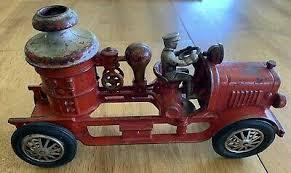 hubley cast iron fire truck 1920s