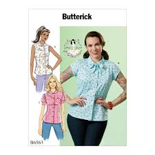 Butterick 6563 Misses' Top sewing pattern | Butterick sewing patterns,  Sewing clothes, Sewing patterns