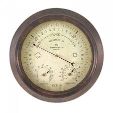 westminster barometer thermometer 8in