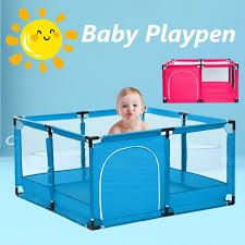 Baby Playpen Playpens For Babies Kids Safety Play Center Yard Portable Playard Play Pen With Gate For Infants And Babies Extra Large Playard Indoor And Outdoor Anti Fall Playpen Walmart Com Walmart Com